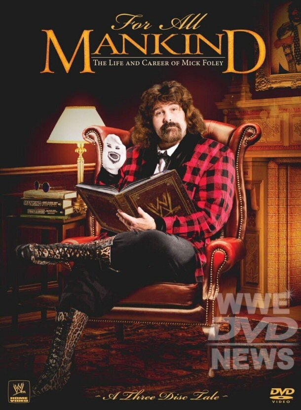 WWE DVD Releases: More Mick Foley Details & Cover Art, Planned