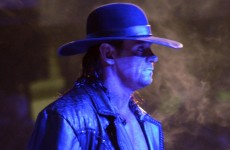 Wrestlezone image The Undertaker Rolls His Eyes For NBA Star Backstage At WWE MSG (Video)
