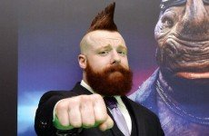 Wrestlezone image Sheamus Makes Special Olympian An Honorary Member Of The Bar; The Miz & Maryse Attend Formula 1 Race