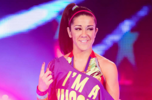 Wrestlezone image Bayley Shares Backstage Photo Ahead Of RAW, SummerSlam 2015 In 60 Seconds (Video)