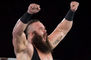 "Wrestlezone image Isenberg Reacts: WWE Payback ""Braun Strowman Soars Past Roman Reigns"""