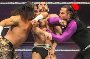 Wrestlezone image Asuka Still Searching For Competition (Photo), Did The Hardys Steal Kurt Angle's WrestleMania Pyro?, WWE Continues Posting Goldberg Videos