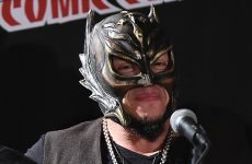 Wrestlezone image Rey Mysterio Is Thankful For His Return To WWE (Video), The Bar & Becky Lynch Celebrate With Their Titles (Photo)