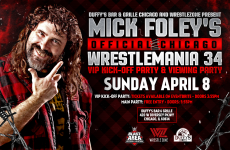 Wrestlezone image Mick Foley's Official Chicago WrestleMania 34 VIP Kick-Off Party & Viewing Party Announced; Full Details