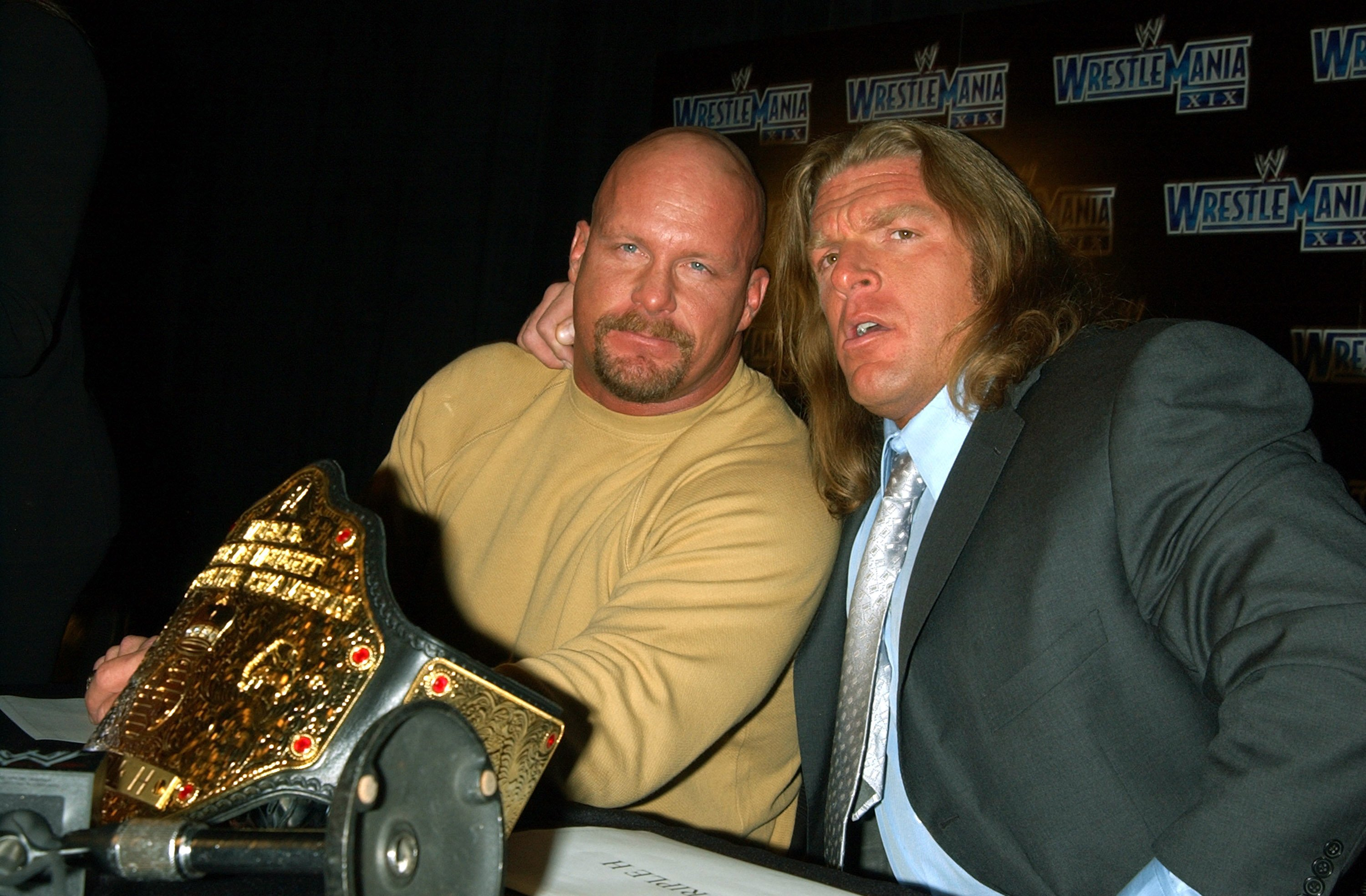 Stone Cold Steve Austin Gives His Prediction On Triple H V The