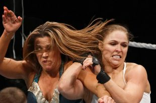 Wrestlezone image Ronda Rousey Jumps The Barricade At WWE Extreme Rules (Video), Braun Strowman Reacts To Kevin Owens' Condition