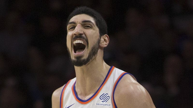 Enes Kanter Wins WWE 24/7 Title at MSG
