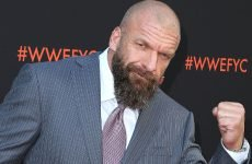 Wrestlezone image See Photos Of An Injured Triple H Producing At NXT TakeOver: War Games, Tale Of The Tape For Black vs. Gargano