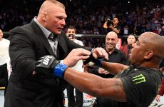Wrestlezone image Daniel Cormier On Wanting To Slap Brock Lesnar At UFC 230, Comments On His WWE Tryouts