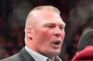 Wrestlezone image Brock Lesnar Kicks Open The Hell In A Cell Door (Video)