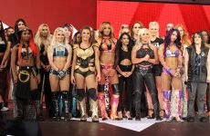 Wrestlezone image UpUpDownDown Does An All-Women's Gauntlet, Mae Young Classic Finalist Poses With Kairi Sane (Photo)