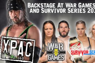 Wrestlezone image Sean 'X-Pac' Waltman On TakeOver: War Games, Survivor Series & The David Arquette Incident