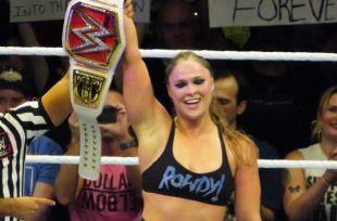 Wrestlezone image Charlotte Flair Addresses Ronda Rousey's 'Effortless' Transition To WWE