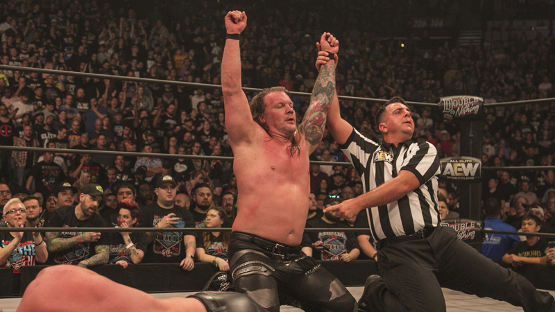 Chris Jericho Will Have A Live Mic At Fight For The Fallen ...