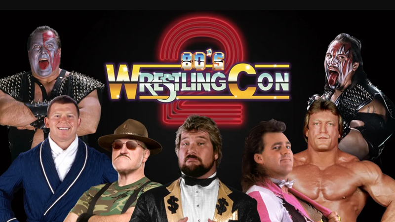 80s Wrestling Con 2 Announces Feature Attractions & Stage Shows