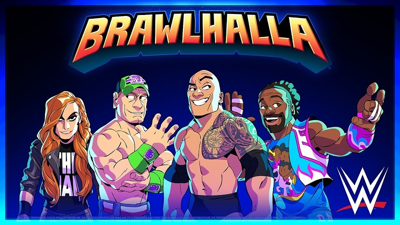 Brawlhalla's Latest Crossover Event Brings Superstars from the WWE