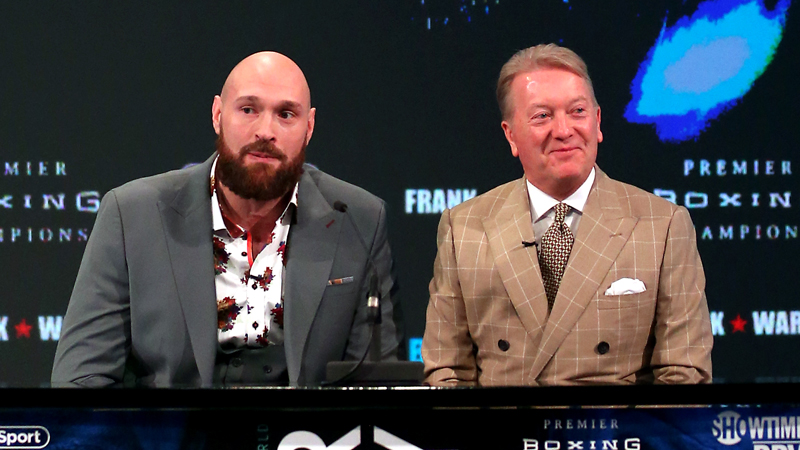 Tyson Fury Wants WWE Match With Cain Velasquez