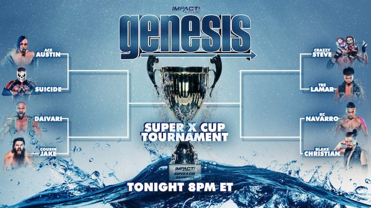 Watch Impact Wrestling Genesis 2021 1/9/21